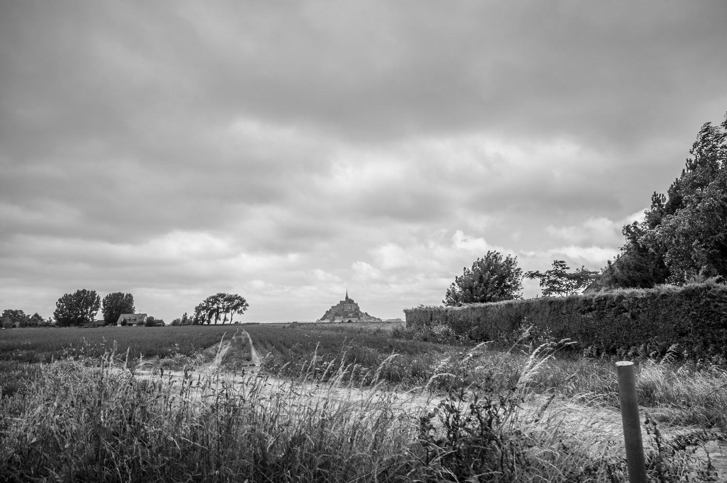 Le Mont-Saint-Michel, Normandië 2017