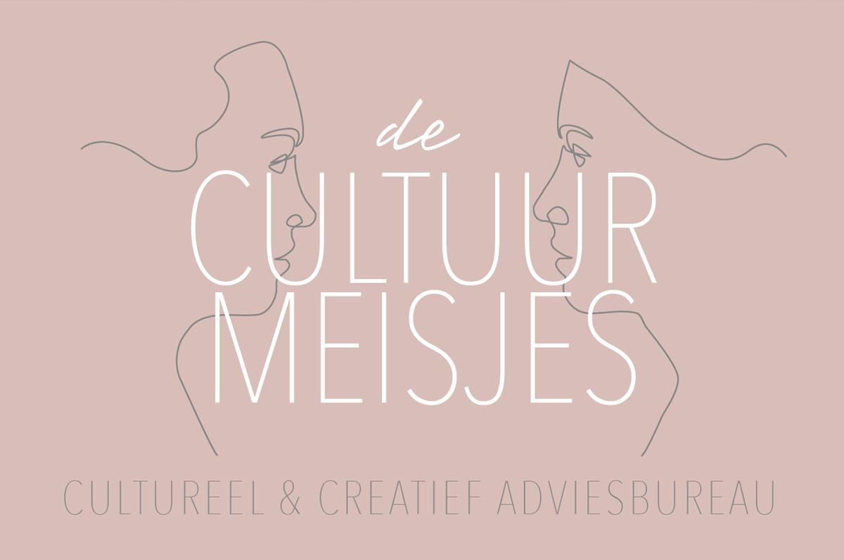De Cultuurmeisjes - website (www.decultuurmeisjes.nl) en vormgeving mediauitingen