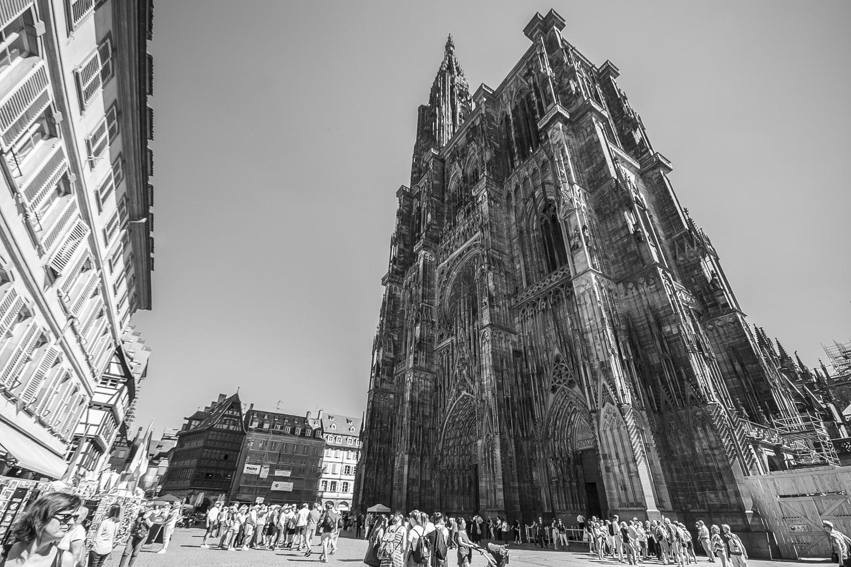 Kathedraal van Straatsburg, Elzas, Frankrijk