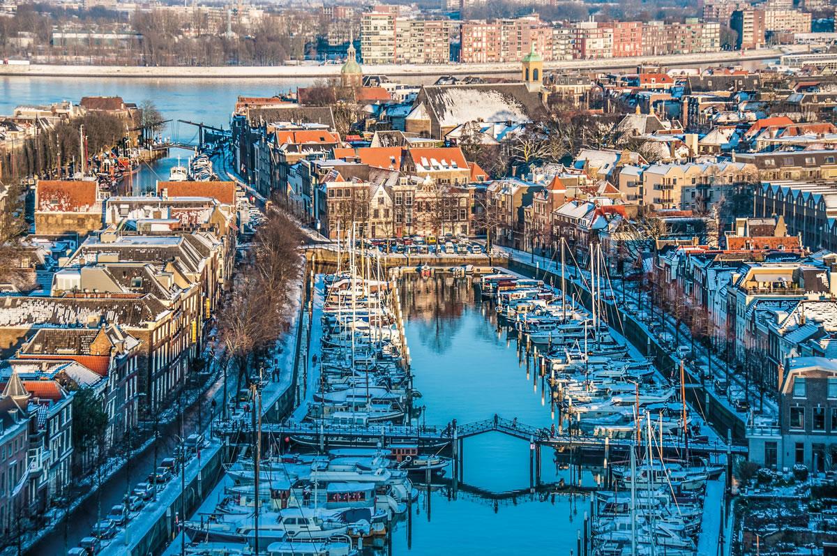Winter in de stad - Dordrecht
