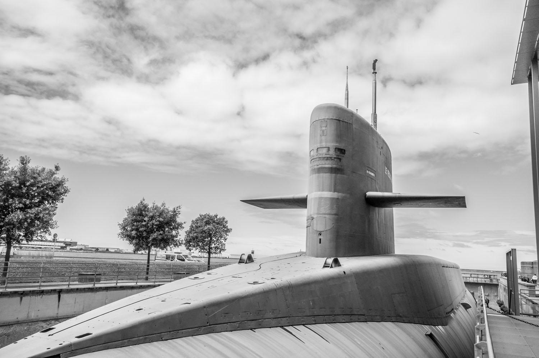 Atoomonderzeeër, La Cité de la Mer, Cherbourg, Normandië 2017
