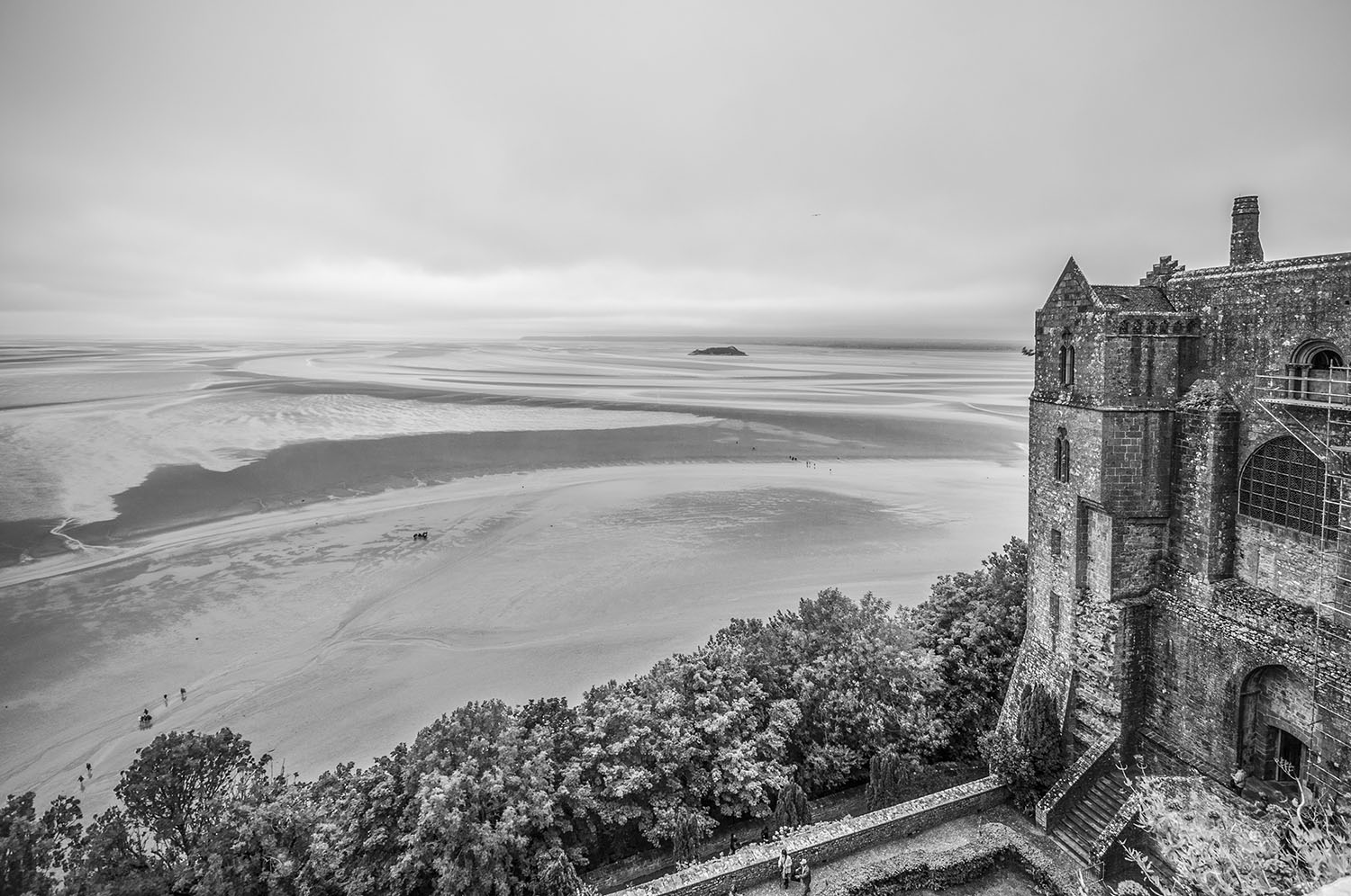 Mont-Saint-Michel, Normandië 2017