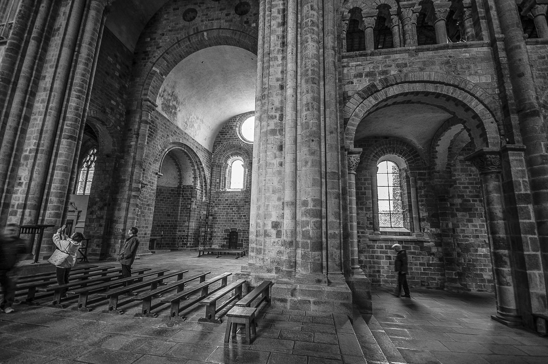 L'Abbaye, Mont-Saint-Michel, Normandië 2017