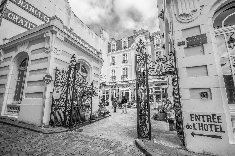 Hotel Chateaubriand, Saint-Malo, Bretagne 2017