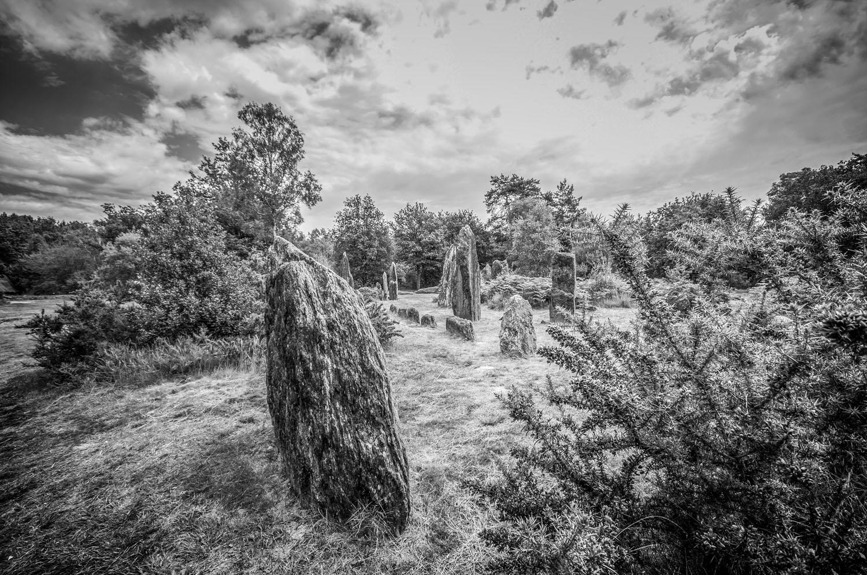 Menhirs de Monteneuf, Brocéliande, Bretagne 2017