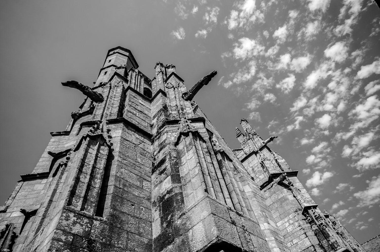 Cathedraal van Ploërmel, Brocéliande, Bretagne 2017