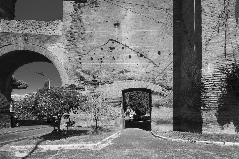 Stadsmuur bij Porta Maggiore - Rome sept. 2018 - foto: Per Bos