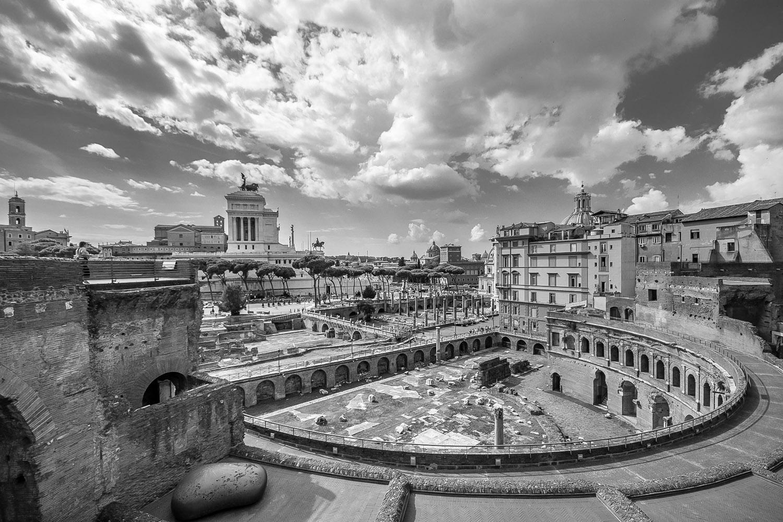 Markt van Trajanus - Rome sept. 2018 - foto: Per Bos