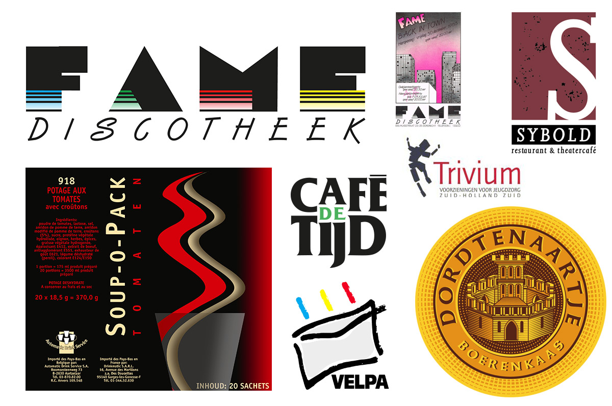 Discotheek Fame - TheaterCafé Sybold - Gert-Jan de Kaasboer - Café de Tijd - Trivium voorzieningen Jeugdzorg - Automatic Holland - Velpa Enveloppen