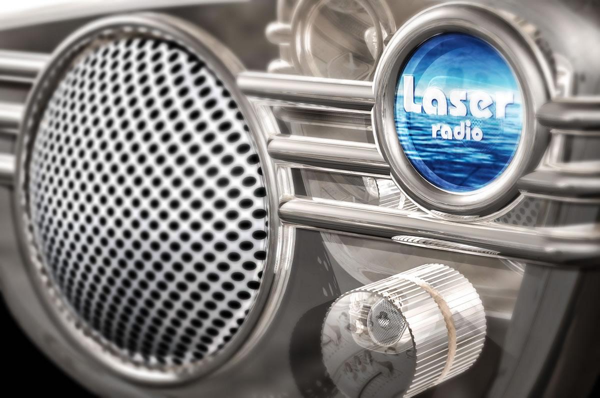 Laser Radio - wallpaper