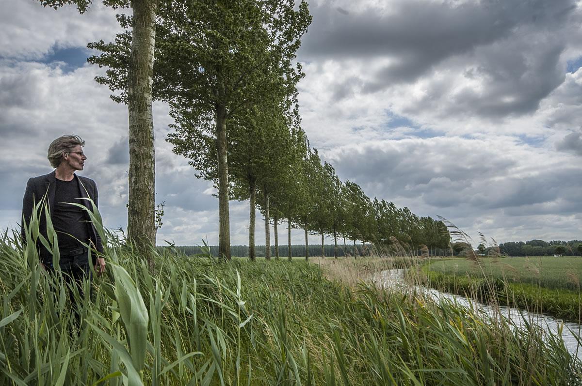 Landschapsarchitect in de polder