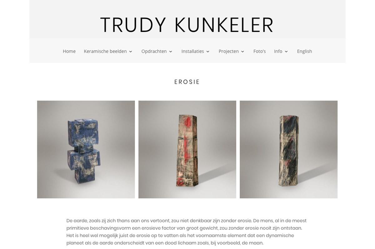 www.trudy-kunkeler.com - website voor beeldend kunstenaar Trudy Kunkeler